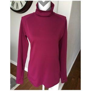 Women's Long Sleeve Turtleneck Columbia Shirt XL